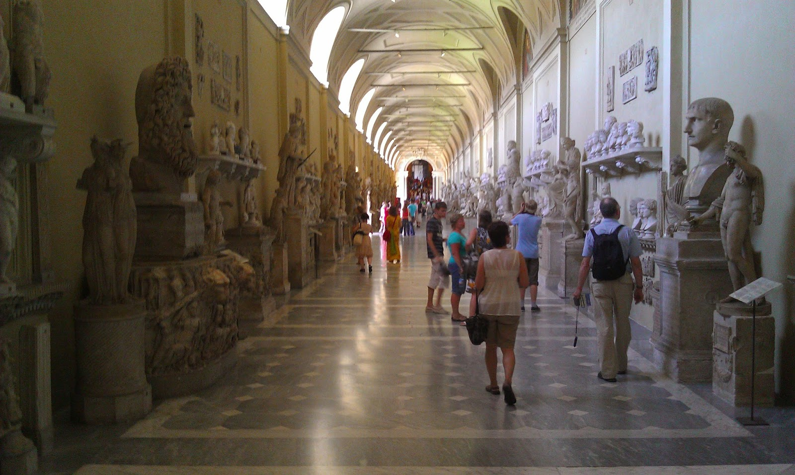 Hall of Statues - Vatican Museum