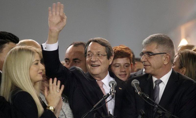 Κύπρος: Επανεξελέγη Πρόεδρος ο Νίκος Αναστασιάδης με 56%