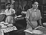 Butterfly McQueen (1911-1995) & Joan Crawford in Mildred Pierce