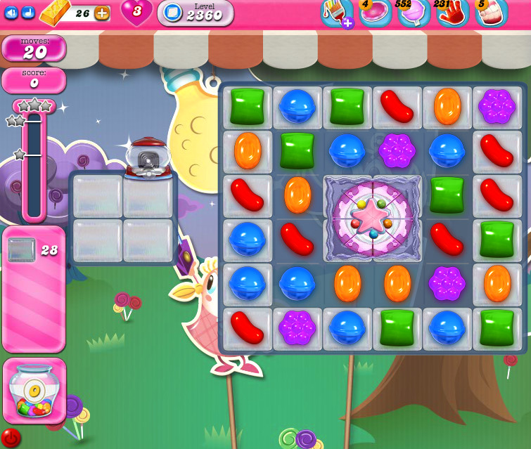 Candy Crush Saga level 2360