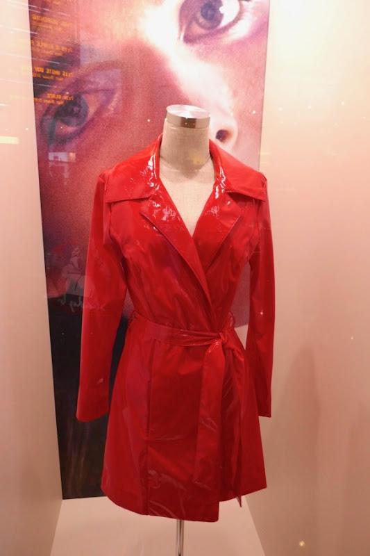Hari Nef Assassination Nation Bex PVC trench coat