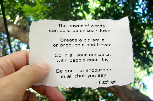 power of words by fitzhugh