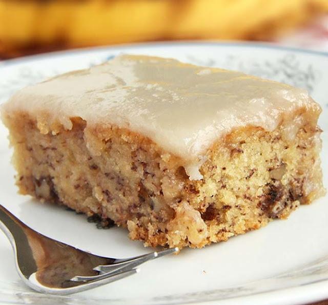 Banana Bread Brownies #dessert #brownies