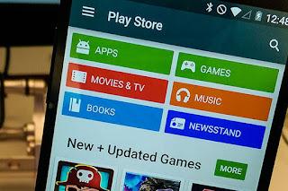 Aplikasi Game Google Playstore Update Sendiri