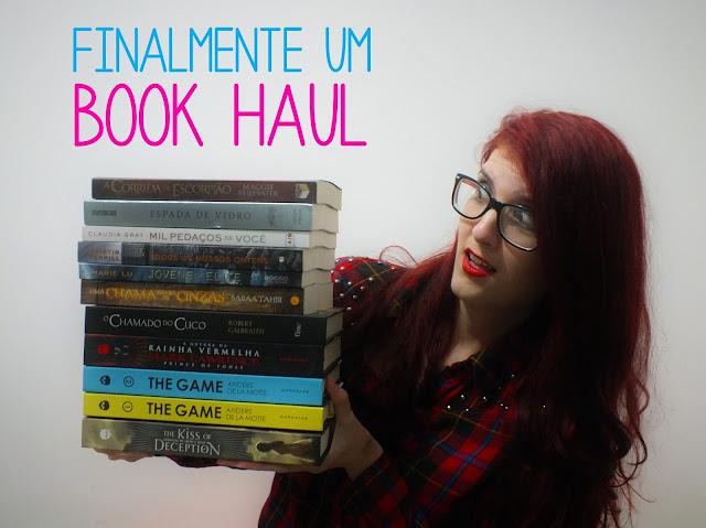 Book Haul: Aquele em que eu comprei livros com capa dura