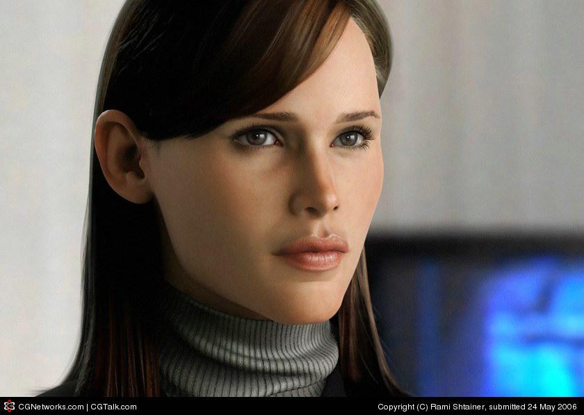 Jennifer Garner 3D Modelos