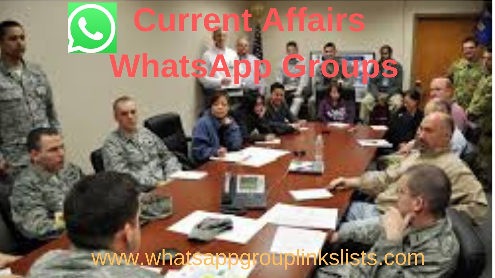 Join Current Affairs WhatsApp Group links List