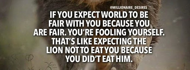 image of dont always expect quotes
