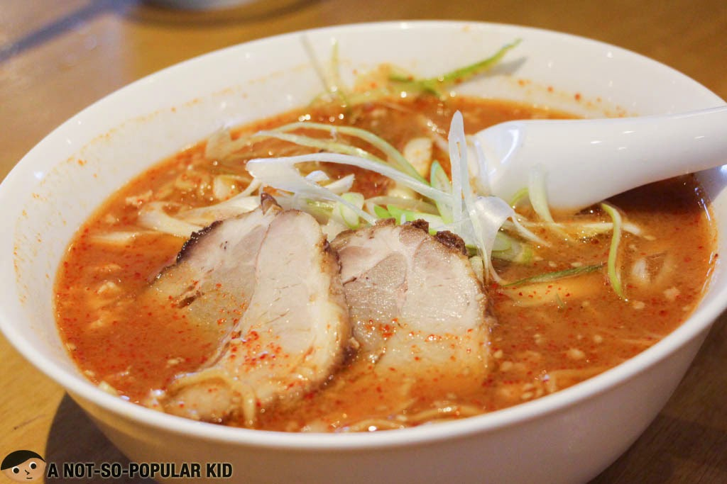 Spicy Negi Ramen of Kenji Tei