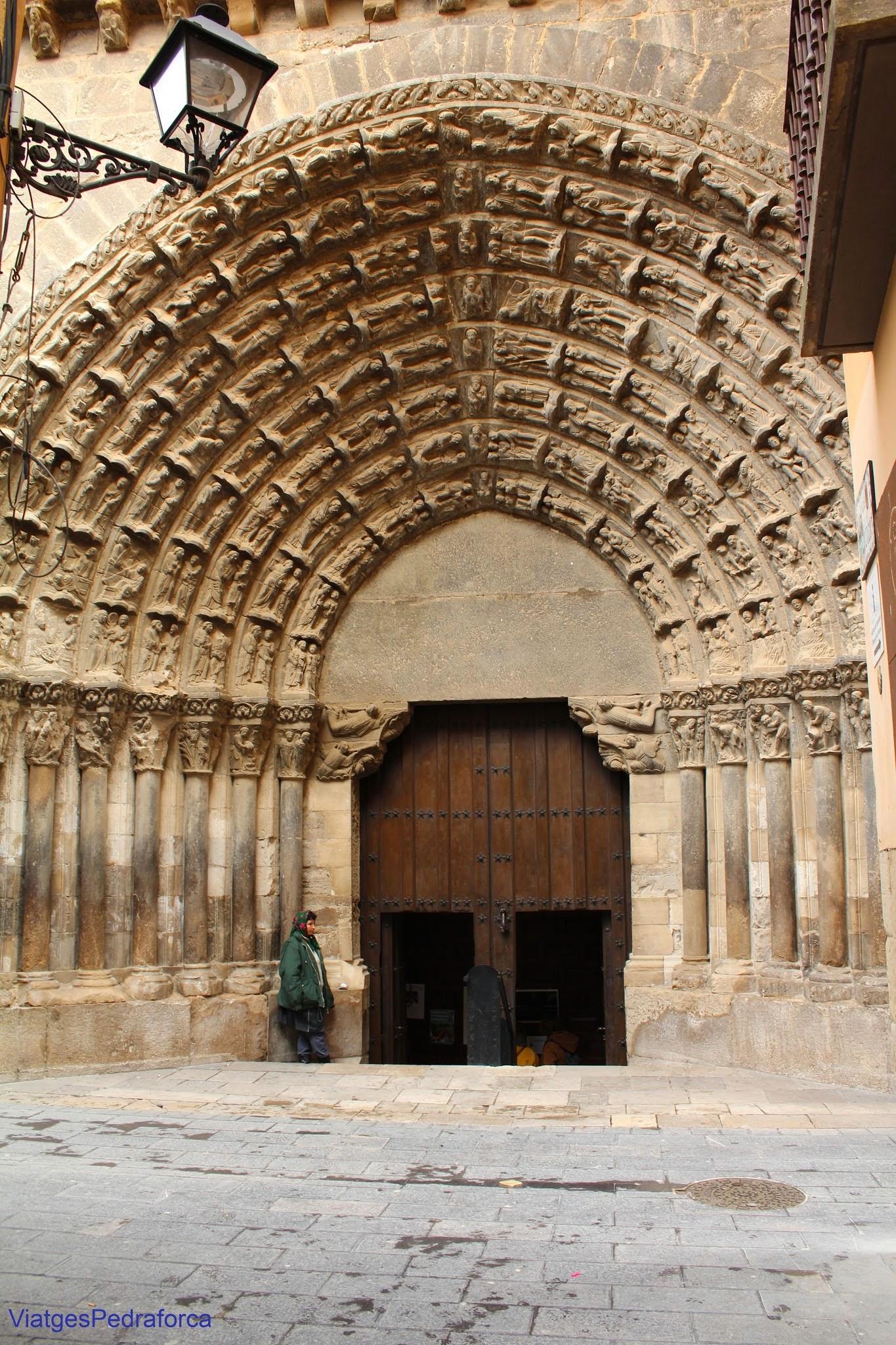 Catedral de Tudela Portada del Juicio Final Antiguo Testamento