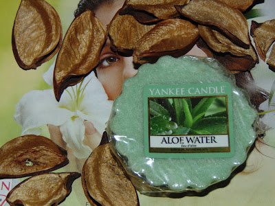 Yankee Candle, wosk Aloe Water