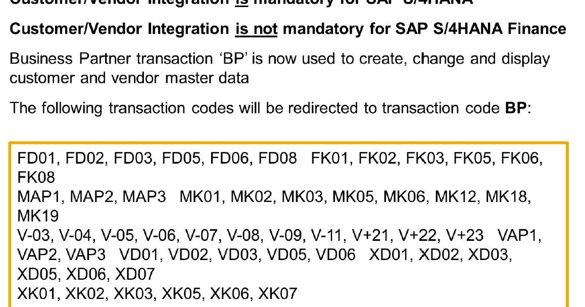 Simply Sap Sap S 4hana Customer Vendor Integration Cvi