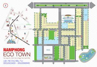 Bán Đất Nền Long An Dự Án Nam Phong Eco Town