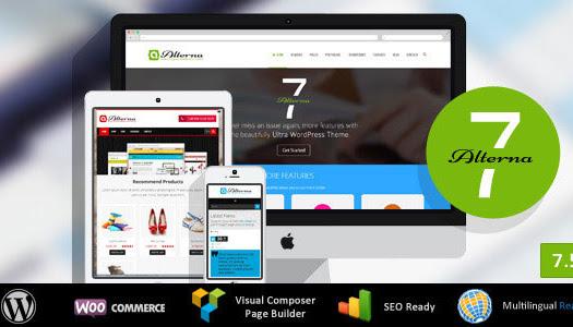 Nulled Alterna 7 v7.5.1 – Ultra Multi-Purpose WordPress Theme