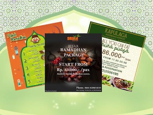 Paket Bukber Rumah Makan Bandung Ramadhan 2019