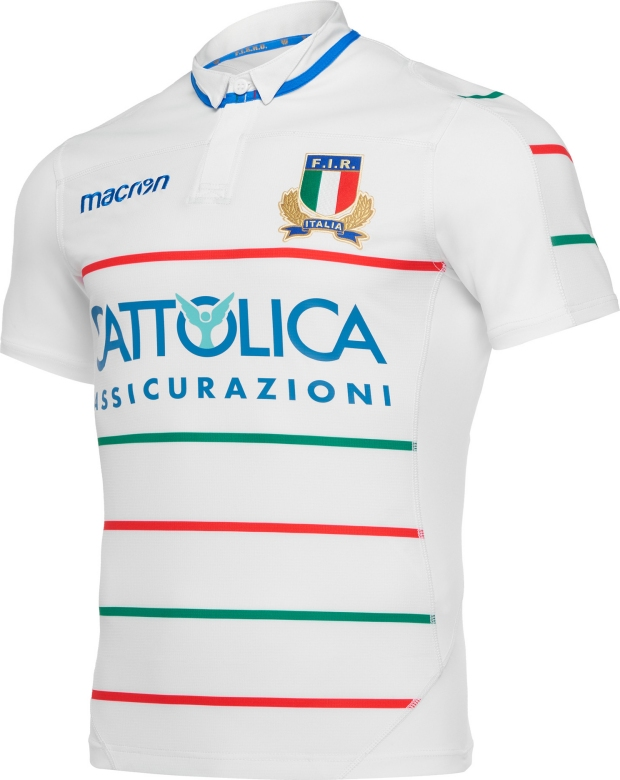 Macron divulga as novas camisas da seleção de rugby da Itália - Show ... 7a526dac885b8