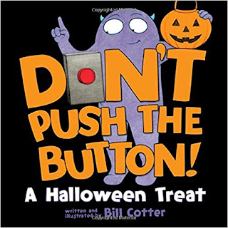 Don't Push the Button (Halloween) book for kids
