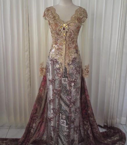 model baju pengantin kebaya
