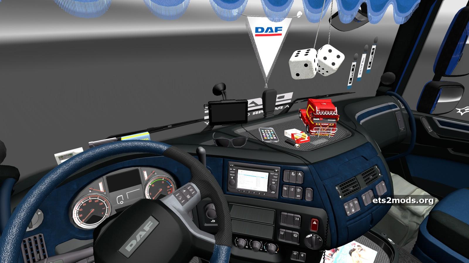 Daf euro 6 cool interior ets2 mods for Daf euro 6 interieur