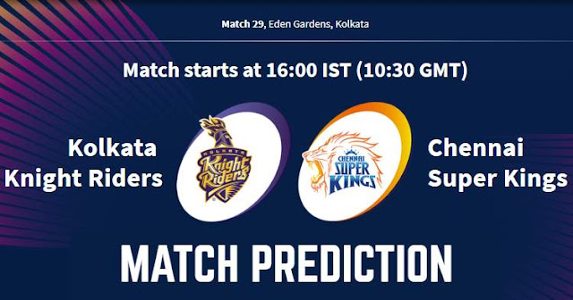 VIVO IPL 2019 Match 29 KKR vs CSK Match Prediction, Probable Playing XI: Who Will Win?