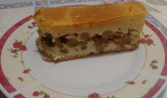 Torta salgada de Sardinha culinaria receita