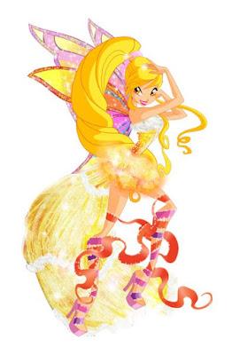 Top ảnh hoạt hình tiên nữ Winx Stella cực đáng yêu