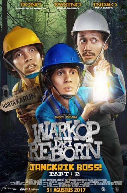 Download Film Warkop DKI Reborn: Jangkrik Boss! Part 2  Gratis