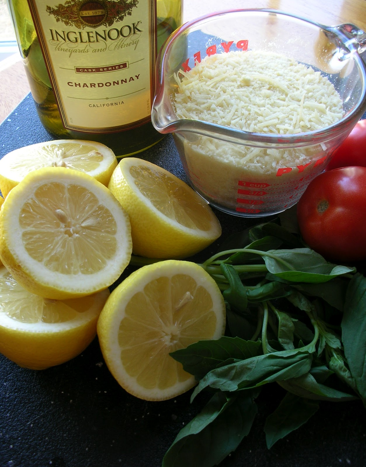 Basil: Grilled Chicken with Lemon Basil Pasta