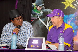 Deez Dayanand and Garth Puller - Hollywoodbets Durban July Pre-Party 2017 - Springfield Park, Durban