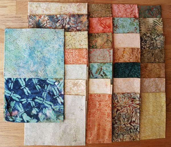 Vintage Morris Fabric by Island Batik | DevotedQuilter.blogspot.com