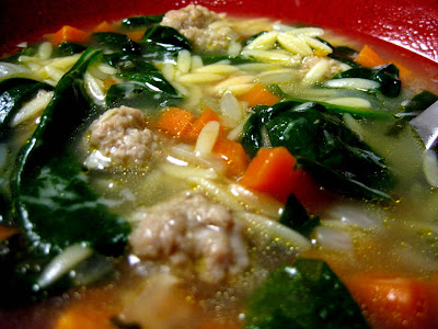 Italian Wedding Soup - Photo by Taste As You Go
