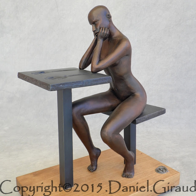 sculpture contemporaine giraud