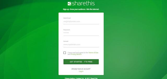 Cara Membuat Tombol Sosial Share - Kored Id