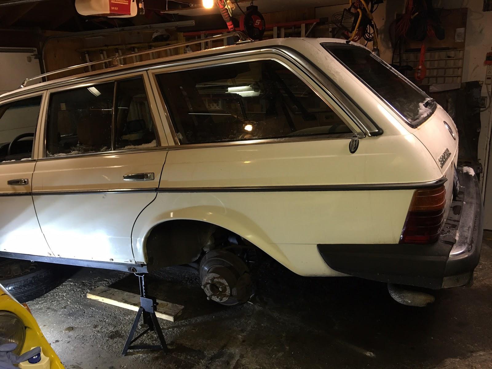 W123: Total SLS Suspension Overhaul ~ Artisan