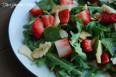 Simple Summer Strawberry Salad