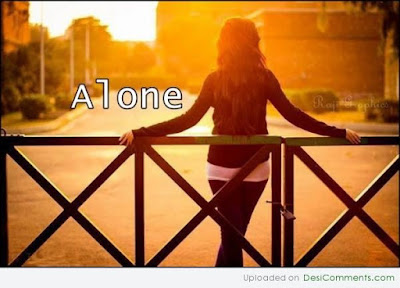 I Am Alone Image.
