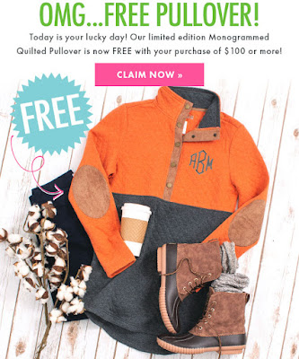 pumpkin quilted pullover tunic outfit