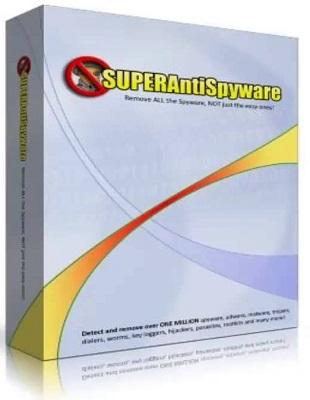 SUPERAntiSpyware Professional 6.0.1228 poster box cover