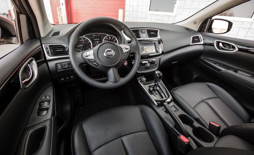Nội thất của Nissan Sentra 2016 quá ư là sang trọng, khác biệt và ấm cúng