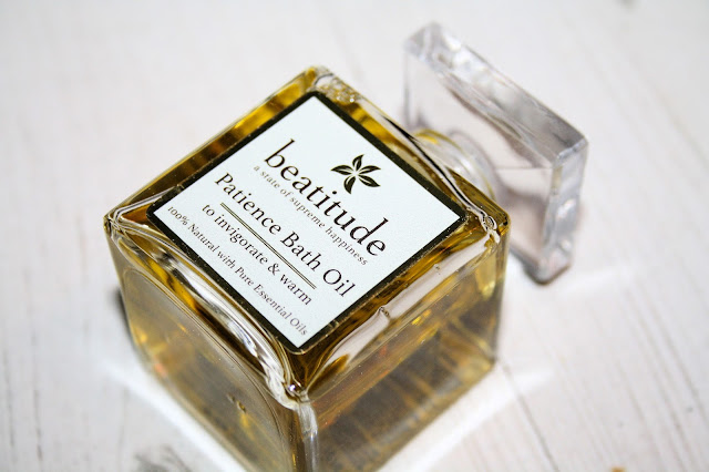 Patience Bath Oil from Beatitude