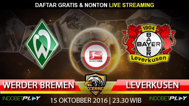 Prediksi Werder Bremen vs Leverkusen 15 Oktober 2016 (Liga Jerman)