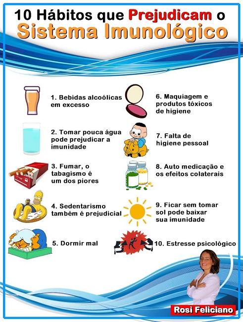 10 hábitos que prejudicam o sistema imunológico