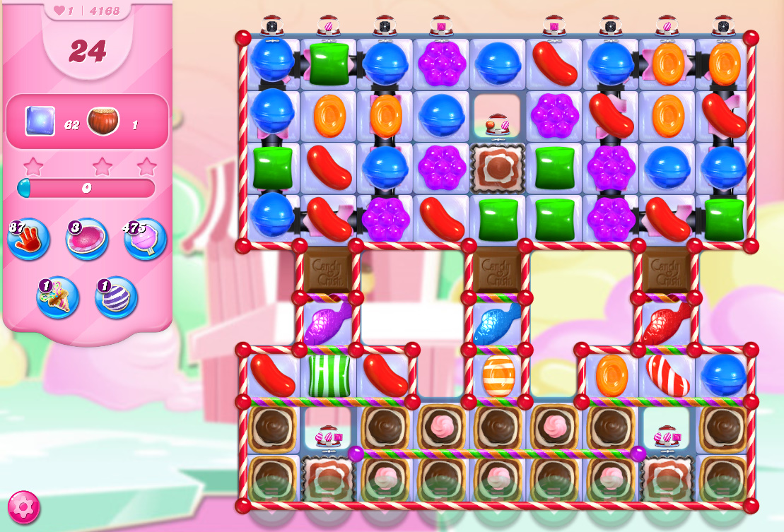 Candy Crush Saga level 4168
