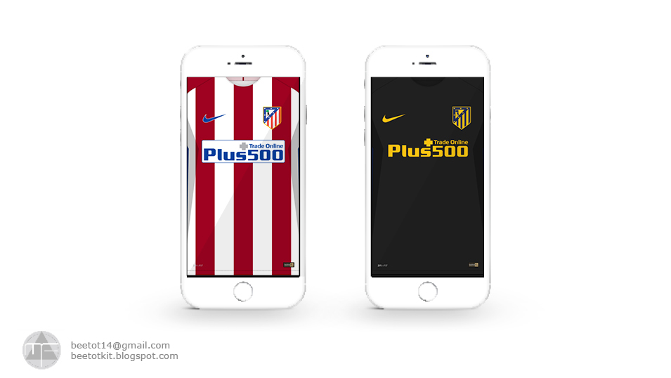 Beetot Kit: Atletico Madrid Kit 16/17 Iphone 6 Wallpaper