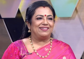 Vanakkam Tamizha with Actress Poornima Bhagyaraj