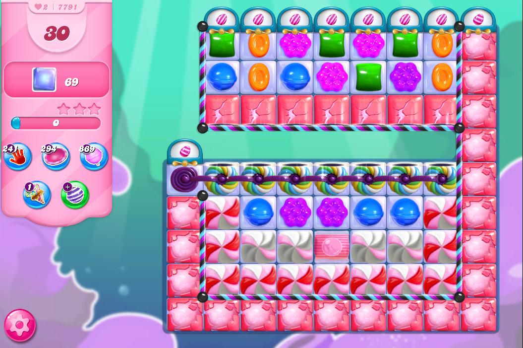 Candy Crush Saga level 7791