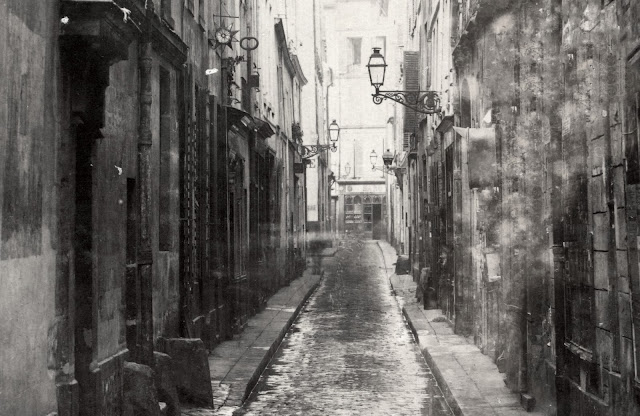 Rue Visconti - Charles Marville