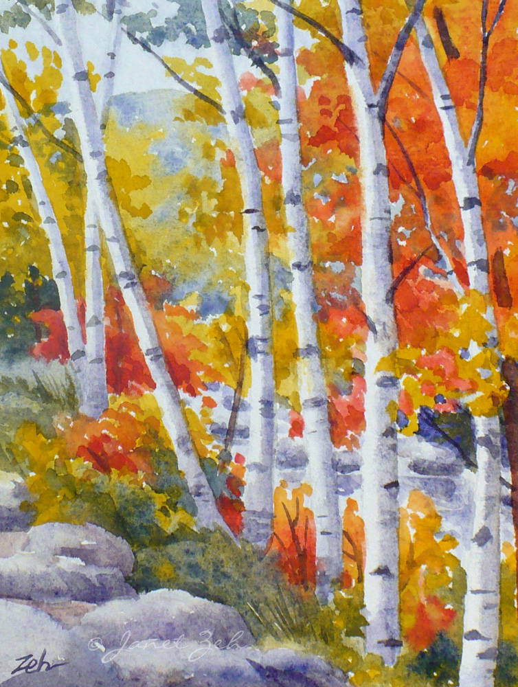 How To Paint Fall Trees In Oil