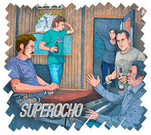 Portada de Superocho, del grupo Superocho