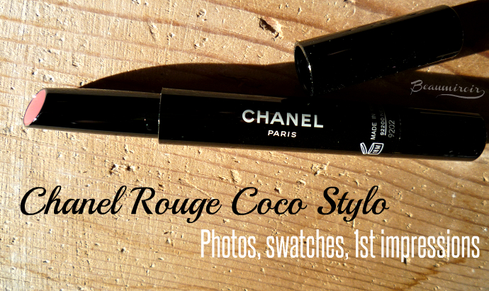 Chanel Rouge Coco Stylo Lipstick - swatches, photos, review